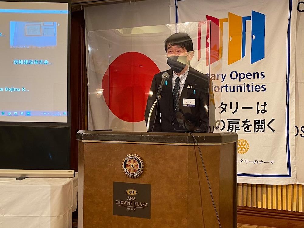 大阪堂島ロータリークラブ日本ライトハウス様ご来訪